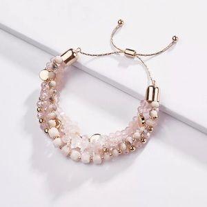 🎉MultiLayered Crystal/Stone Beaded Bracelet